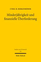 Minderjährigkeit und finanzielle Überforderung