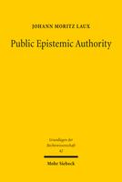 Public Epistemic Authority