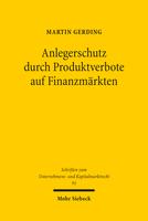 urch Produktverbote auf Finanzmärkten