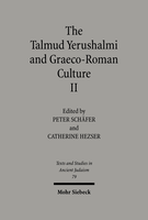 The Talmud Yerushalmi and Graeco-Roman Culture II