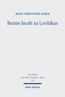 Benno Jacob zu Levitikus
