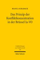 Das Prinzip der Konfliktkonzentration in der Brüssel Ia-VO