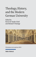 Theology, History, and the Modern German University