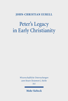 Peter's Legacy in Early Christianity