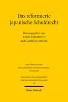 Das reformierte japanische Schuldrecht