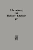 Übersetzung der Hekhalot-Literatur