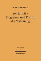 Solidarität – Programm und Prinzip der Verfassung