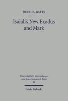 Isaiah's New Exodus and Mark