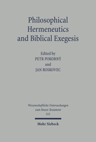 Philosophical Hermeneutics and Biblical Exegesis