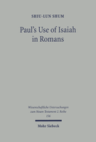 Paul's Use of Isaiah in Romans