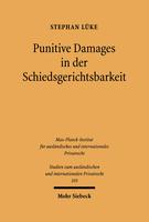 Punitive Damages in der Schiedsgerichtsbarkeit