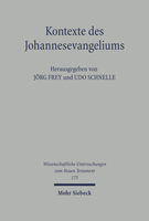 Kontexte des Johannesevangeliums