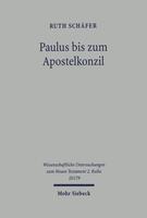 Paulus bis zum Apostelkonzil