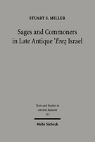 Sages and Commoners in Late Antique 'Erez Israel