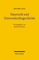 Naturrecht und Universalrechtsgeschichte