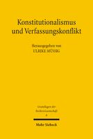 Konstitutionalismus und Verfassungskonflikt