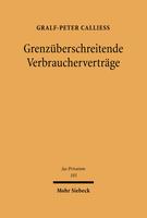 Grenzüberschreitende Verbraucherverträge