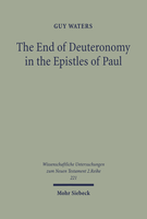 The End of Deuteronomy in the Epistles of Paul