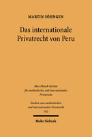 Das internationale Privatrecht von Peru