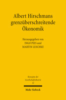 Albert Hirschmans grenzüberschreitende Ökonomik