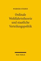 Ordinale Wohlfahrtstheorie und staatliche Verteilungspolitik