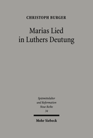 Marias Lied in Luthers Deutung