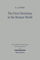 The First Christians in the Roman World