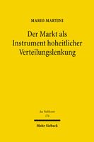 Der Markt als Instrument hoheitlicher Verteilungslenkung