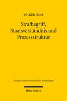 Strafbegriff, Staatsverständnis und Prozessstruktur