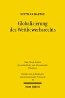 Globalisierung des Wettbewerbsrechts