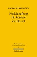Produkthaftung für Software im Internet