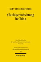 Gläubigeranfechtung in China
