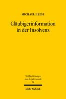 Gläubigerinformation in der Insolvenz