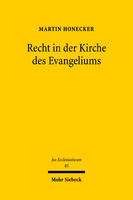 Recht in der Kirche des Evangeliums