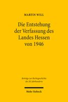 Die Entstehung der Verfassung des Landes Hessen von 1946