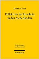 Kollektiver Rechtsschutz in den Niederlanden
