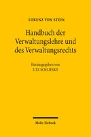 Handbuch der Verwaltungslehre und des Verwaltungsrechts