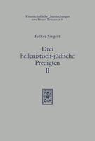 Drei hellenistisch-jüdische Predigten II