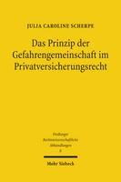 Das Prinzip der Gefahrengemeinschaft im Privatversicherungsrecht