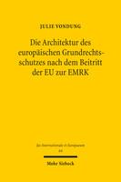 Die Architektur des europäischen Grundrechtsschutzes nach dem Beitritt der EU zur EMRK