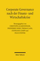 Corporate Governance nach der Finanz- und Wirtschaftskrise