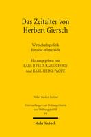 Das Zeitalter von Herbert Giersch