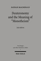 Deuteronomy and the Meaning of »Monotheism«
