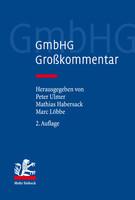 GmbHG – Gesetz betreffend die Gesellschaften mit beschränkter Haftung (2. Aufl.)
