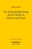 Der Anwendungsvorrang des EU-Rechts in Theorie und Praxis