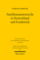 Familiennamensrecht in Deutschland und Frankreich