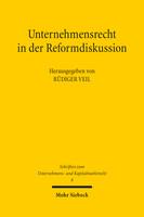 Unternehmensrecht in der Reformdiskussion