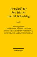 Festschrift für Rolf Stürner zum 70. Geburtstag