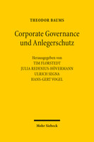 Corporate Governance und Anlegerschutz