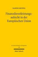 Finanzdienstleistungsaufsicht in der Europäischen Union